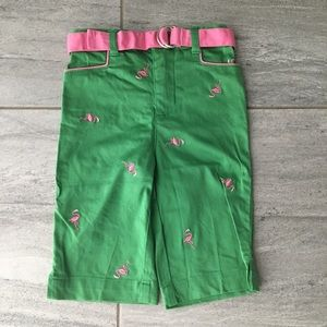 First Impressions Flamingo Bermuda Shorts, 18 mos